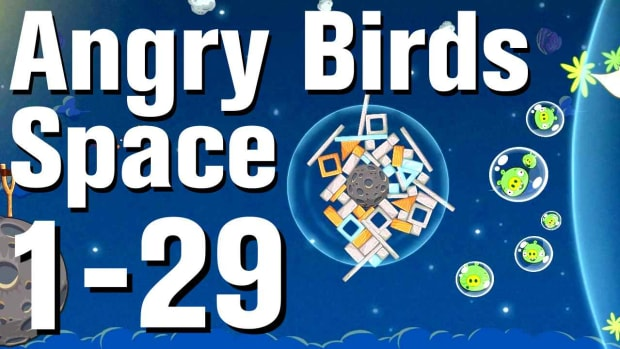 ZC. Angry Birds: Space Walkthrough Level 1-29 Promo Image