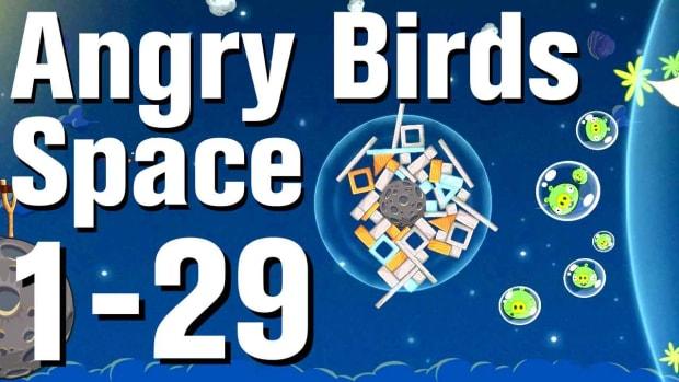 ZC. Angry Birds: Space Walkthrough Level 1-29 Promo Image