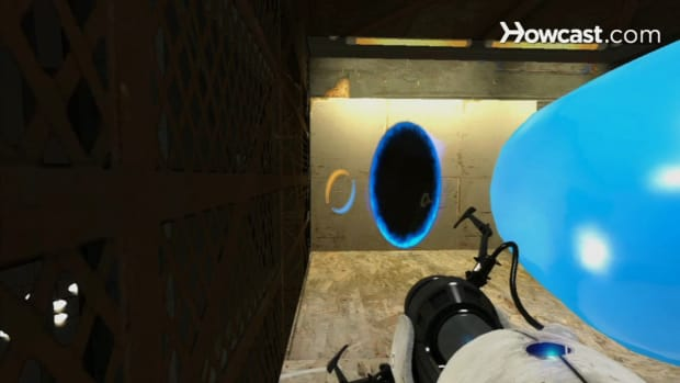 ZL. Portal 2 Walkthrough / Chapter 6 - Part 4: Repulsion Gel Room 2 of 3 Promo Image