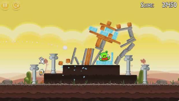 L. Angry Birds Level 3-12 Walkthrough Promo Image