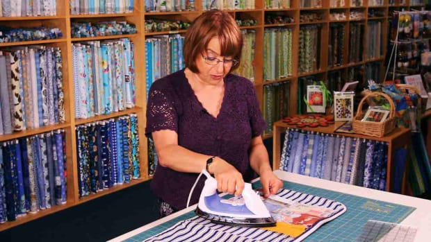 N. How to Press Quilt Strips & Seams Promo Image