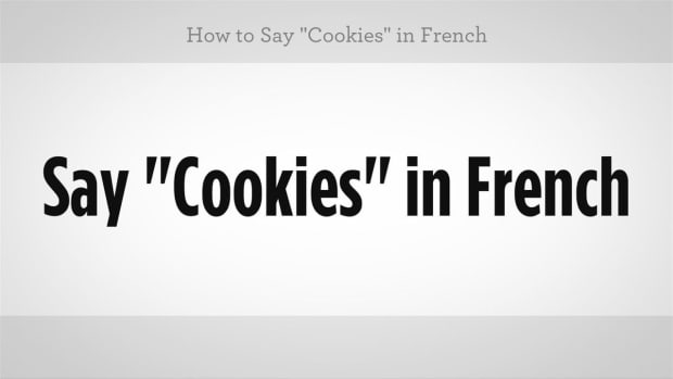 "ZZD. How to Say ""Cookies"" in French Promo Image"