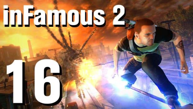 P. inFamous 2 Walkthrough Part 16: The Sacrifice Promo Image