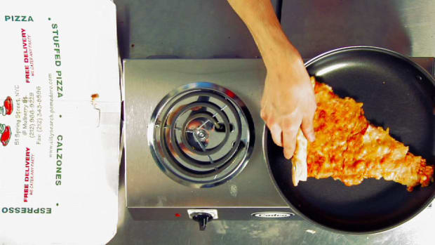 ZF. Quick Tips: How to Reheat Leftover Pizza Promo Image