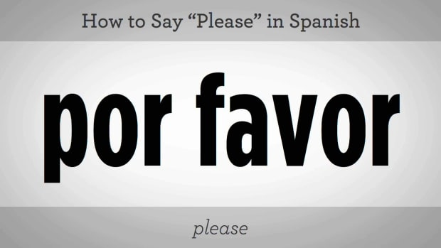 "G. How to Say ""Please"" in Spanish Promo Image"