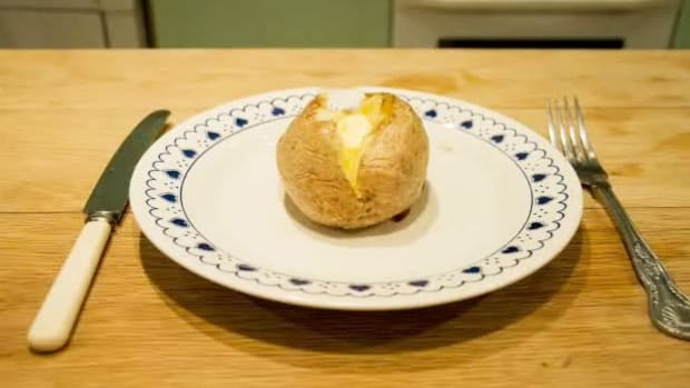 A. How to Bake a Potato Promo Image