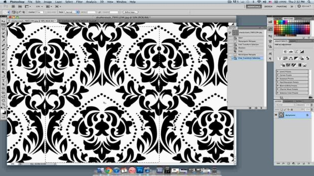 K. How to Create a Wallpaper Pattern in Photoshop Promo Image