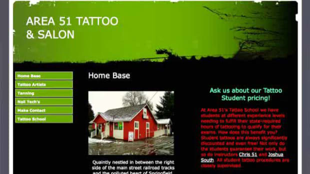 T. How to Get a Tattoo with Area 51 Tattoo Promo Image