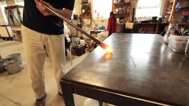 ZA. How to Marver Glass in Glassblowing Promo Image