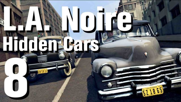 "H. L.A. Noire Walkthrough Hidden Cars 08: ""Delahaye 135ms Cabriolet"" Promo Image"
