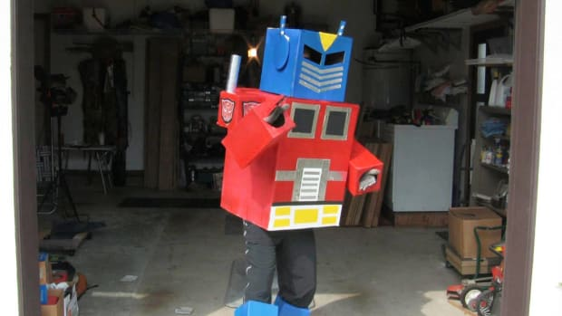 N. How to Make a Transformers Costume Promo Image