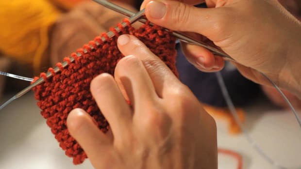 K. How to Do a Garter Stitch in the Round Promo Image