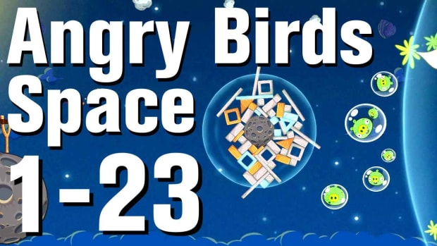 W. Angry Birds: Space Walkthrough Level 1-23 Promo Image