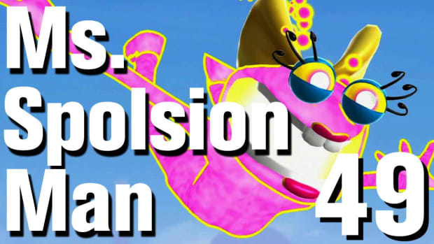 ZW. Ms. Splosion Man Walkthrough: Level 3-12 Promo Image