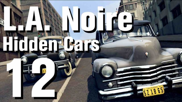 "L. L.A. Noire Walkthrough Hidden Cars 12: ""Talbot GS26"" Promo Image"