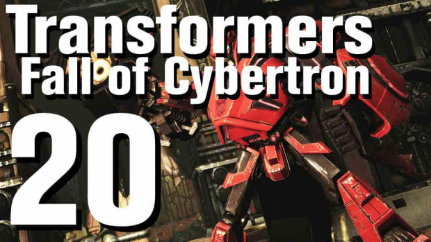 T. Transformers Fall of Cybertron Walkthrough Part 20 - Chapter 6 Promo Image