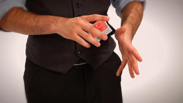 S. How to Do the Swivel Cut or Kick Cut Card Flourish Promo Image