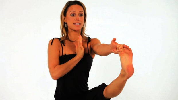 ZC. How to Do a Standing Big Toe Yoga Pose Promo Image