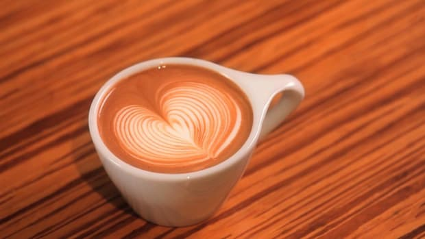 I. How to Pour a Latte Art Rippled Heart Promo Image
