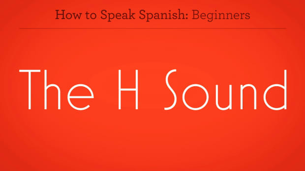 "ZZZC. How to Pronounce ""H"" in Spanish Promo Image"