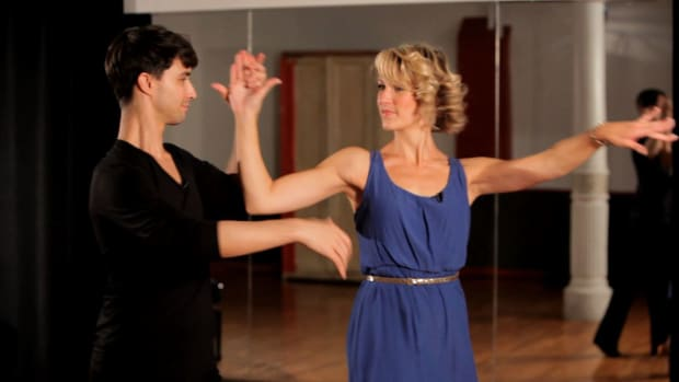 ZC. How to Do a Rumba Open Break with Underarm Turn Promo Image