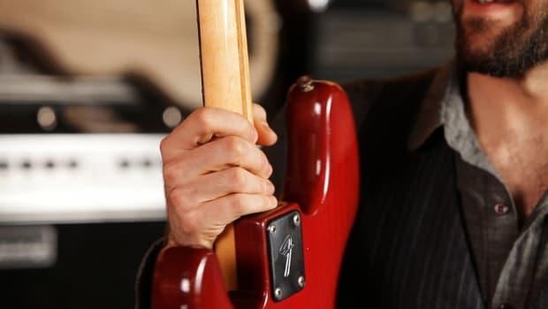 A. Fender Bass Guitar Neck Profiles Promo Image