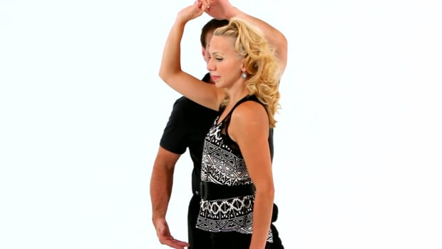 Z. How to Do the West Coast Swing Underarm Turn in Swing Dance Promo Image