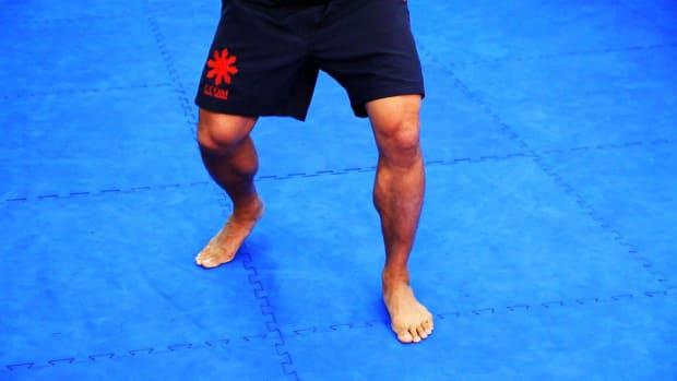 M. 5 Footwork Basics in MMA Fighting Promo Image