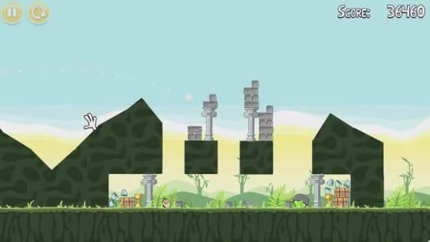 O. Angry Birds Level 2-15 Walkthrough Promo Image