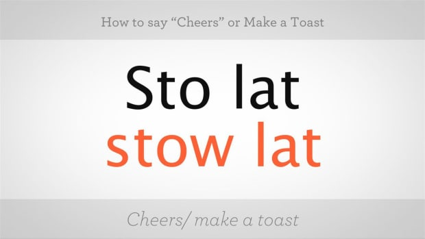 "X. How to Say ""Cheers"" & How to Make a Toast in Polish Promo Image"