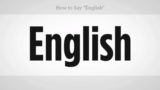 "ZZN. How to Say ""English"" in Mandarin Chinese Promo Image"