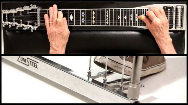 X. How to Use the C Pedal on a Steel Guitar Promo Image