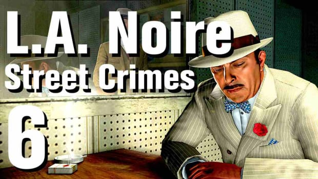 "F. L.A. Noire Walkthrough Street Crimes 06: ""Amateur Hour"" Promo Image"