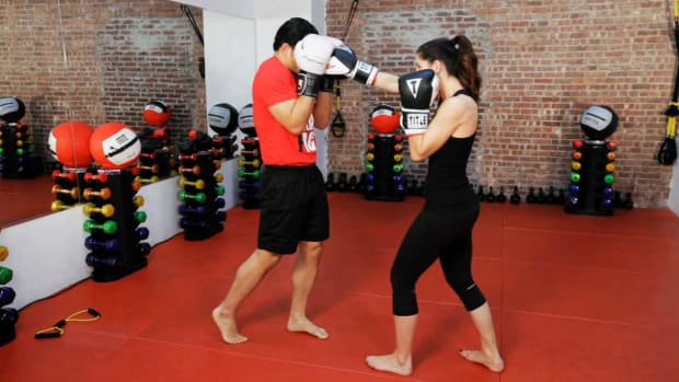 T. How to Defend against a Punch in Kickboxing Promo Image