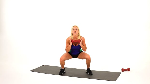 Z. How to Do a Goblet Squat for a Sexy Legs Workout Promo Image