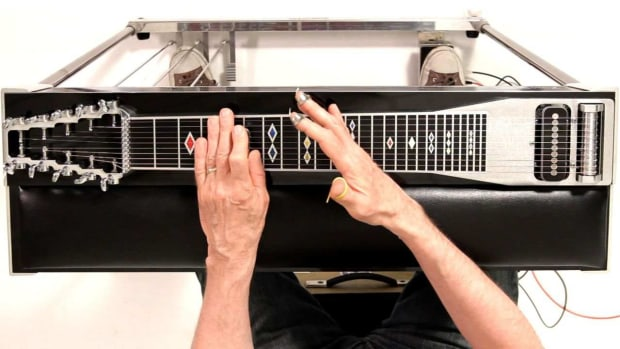 K. How to Position Fingers & Hands on a Pedal Steel Guitar Promo Image