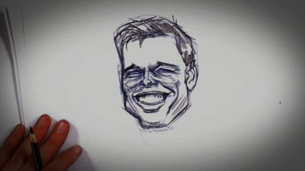 J. How to Draw Brad Pitt Promo Image