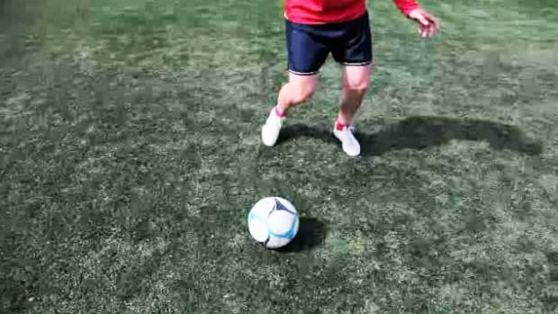 ZG. How to Do the Foot Stall Soccer Trick Promo Image