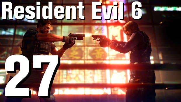 ZA. Resident Evil 6 Walkthrough Part 27 - Chapter 3 Promo Image