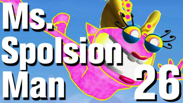 Z. Ms. Splosion Man Walkthrough: Level 2-7 Promo Image