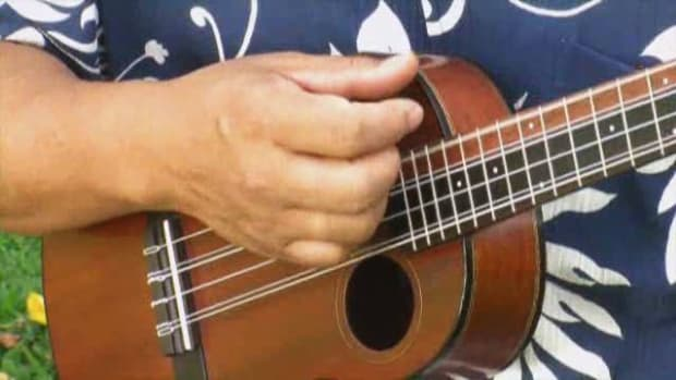 F. How to Fingerpick a Ukulele Promo Image