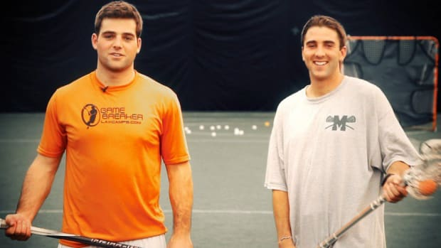 W. How to Play Lacrosse with Taylor Nissi & Nick Schmidt Promo Image