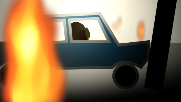 B. How to Pull Someone Out of a Burning Car Promo Image