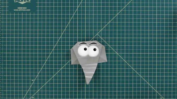 X. How to Make an Origami Elephant Promo Image