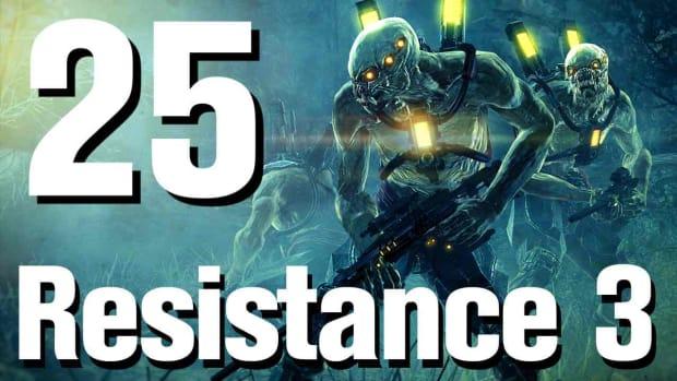 Y. Resistance 3 Walkthrough Part 25: Satan Promo Image