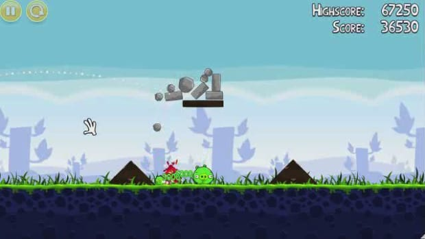 N. Angry Birds Level 1-14 Walkthrough Promo Image