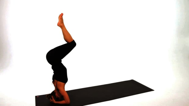 W. How to Do a Headstand (Sirsasana) in Yoga Promo Image