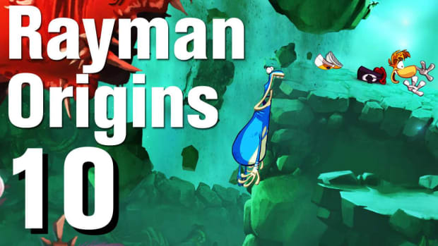 J. Rayman Origins Walkthrough 2-3: Wind or Lose Promo Image
