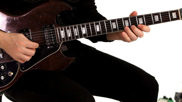 ZJ. How to Do a Chromatic Scale Exercise on Guitar Promo Image