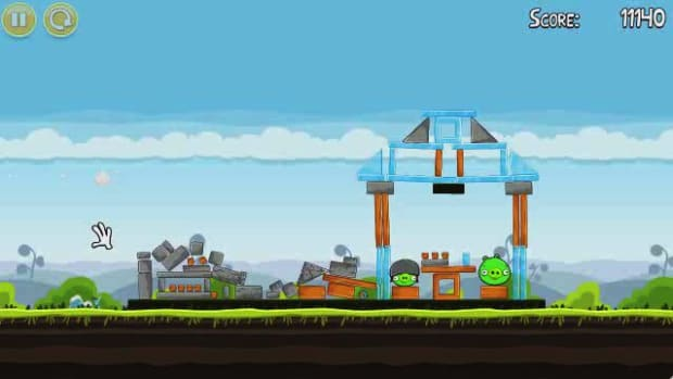 C. Angry Birds Level 4-3 Walkthrough Promo Image